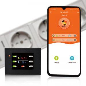 Terrarium Temperatur und Luftfeuchtigkeitskontrolle über App